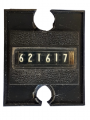Numerador - Contador 6 Digital 12v PN para Catraca Telemática DP 300 (seminovo)